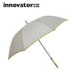 イノベーター(innovator) 耐風骨長傘 ベージュ│レインウェア・雨具 傘