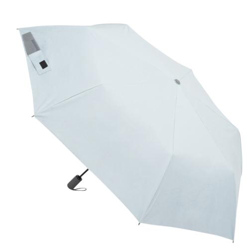 【先行販売】 イノベーター×東急ハンズ 晴雨兼用自動開閉傘 60cm ペールブルー│レインウェア・雨具 日傘