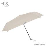 ゼロアンド(−0&) 軽量スリム オールウェザー ホワイト│レインウェア・雨具 折り畳み傘
