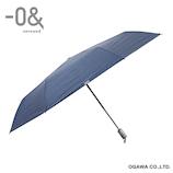 ゼロアンド(−0&) 自動開閉ワイド オールウェザー デニム│レインウェア・雨具 日傘