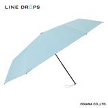 ラインドロップス(LINE DROPS) カラーシリーズ 晴雨兼用傘 Soap│レインウェア・雨具 日傘