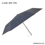 ラインドロップス(LINE DROPS) カラーシリーズ 晴雨兼用傘 Night│レインウェア・雨具 日傘