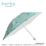 korko 晴雨兼用折傘 アーキペラゴ