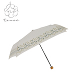 tenoé 晴雨兼用折畳傘 ナチュラル ミモザのブーケ