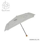 tenoe ナチュラル 雨晴兼用折畳傘 ことりの追いかけっこ