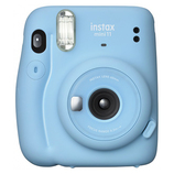 富士フィルム チェキ instax mini11 SKY BLUE│アルバム・フォトフレーム トイカメラ