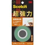 3M 超強力両面テープ 透明素材用 19×1.5M