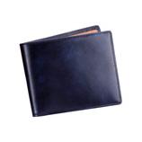 ジャルックススタイル(JALUX STYLE) Snobbist(スノビスト) ミュージアムカーフ二つ折り財布 12400004 ネイビー
