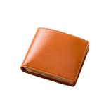 グレンフィールド BRITISH GREEN ブライドルレザー 二つ折り財布 ブラウン