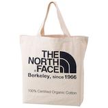ザ ノースフェイス(THE NORTH FACE) オーガニックコットントート NM81616 ナチュラル×エステートブルー 20L