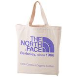 ザ ノースフェイス(THE NORTH FACE) オーガニックコットントート NM81616 ナチュラル×ラベンデュラパープル 20L