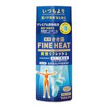 きき湯 ファインヒート(FINE HEAT) 爽快リフレッシュ ミント&レモンの香り 400g