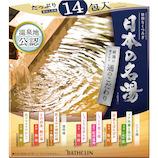 バスクリン 日本の名湯 通のこだわり 14包入