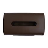 フィルフィット ティッシュケース ブラウン│洗面用具・洗面所用品 ティッシュケース・カバー