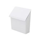 プリスベイス レジ袋ストッカー ホワイト│キッチン収納 キッチンペーパーホルダー
