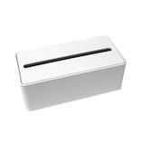 フィルフィット ペーパータオルケース ホワイト│洗面用具・洗面所用品 ティッシュケース・カバー
