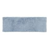 プリスベイス ソフィ アクセントラグ 30×90cm ブルー│カーペット・マット