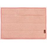 オカ プリスベイス 水切り吸水マット ワッフル 約28×40cm ピンク