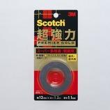 3M 超強力両面テープ プレミアゴールド スーパー多用途 粗面用 KPR-12 12×1.5