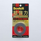 3M 超強力両面テープ プレミアゴールド スーパー多用途 粗面用 KPR-19 19×1.5