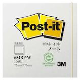 3M ポスト・イット ノート 654RP−W