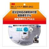 3M 防じんマスク 8805-DS2 3枚/パック