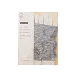 絹屋×東急ハンズ限定 シルクと綿麻スラブ アームカバー 茶色