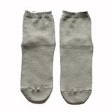絹屋 極暖シルク先丸靴下 SO4939 06銀