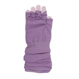 東急ハンズ限定 内側シルクUVアームカバー ロング丈 紫