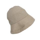 東急ハンズ限定 内側シルクUVケア帽子 2WAY 砂色