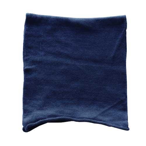絹屋 極暖シルク ネックウォーマー SO4980 紺