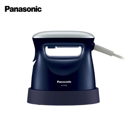 パナソニック 衣類スチーマー NI−FS530 ダークブルー