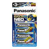 パナソニック(Panasonic) 乾電池 エボルタネオ LR6NJ/4B 単3形 4本入り