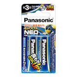 パナソニック(Panasonic) 乾電池 エボルタネオ LR6NJ/2B 単3形 2本入