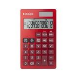キャノン(Canon) 手帳型電卓 12桁 レッド