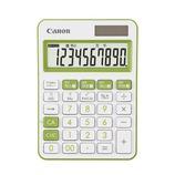 キャノン(Canon) カラフル電卓 ミニ卓上 10桁 グリーン