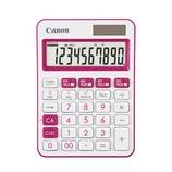 キャノン(Canon) カラフル電卓 ミニ卓上 10桁 ピンク