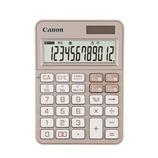 キャノン(Canon) カラフル電卓 ミニ卓上 12桁 ピンク