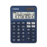 キャノン(Canon) カラフル電卓 ミニ卓上 12桁 ブルー