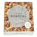 IZAMESHI CAN 生姜の風味の 牛そぼろごはん 170g