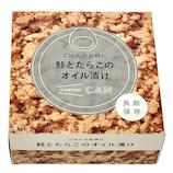 IZAMESHI CAN ごはんのお供に 鮭とたらこのオイル漬け 80g