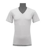 氷撃 フリーズテック(FREEZE TECH)  冷却インナーシャツ 半袖Vネックインナー ホワイト XL
