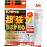 スコッチ あとからはがせる両面テープ粗面 SRR−15│ガムテープ・粘着テープ 両面テープ