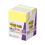 3M ポスト・イット® 強粘着ノート 656-5SSAP アソート商品