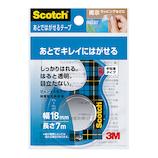 3M スコッチ(Scotch®) あとではがせるテープ CA18-DS│ガムテープ・粘着テープ 透明テープ