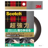 3M スコッチ 自動車ダッシュボード用 両面テープ 屋内(車内)用 SCD‐15