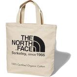 ノースフェイス(TNF) オーガニックコットントート NM81971K ナチュラル×ブラック│トートバッグ