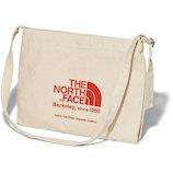 ザ ノースフェイス (THE NORTH FACE) ミュゼットバッグ NM81972TR ナチュラル×TNFレッド