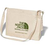 ザ ノースフェイス (THE NORTH FACE) ミュゼットバッグ NM81972GG ナチュラル×ガーデングリーン