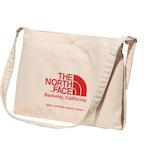 ザ ノースフェイス (THE NORTH FACE) ミュゼットバッグ NM82041 ナチュラル×TNFレッド